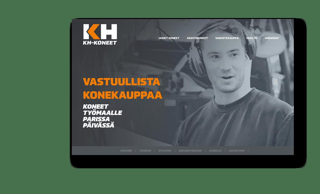 Case KH-koneet